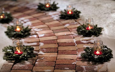 10 ideas of beautifying your outdoor for Christmas homesthetics decor 6