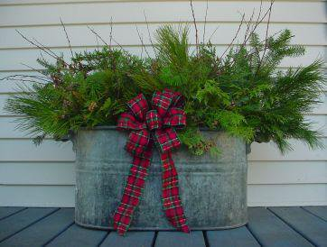 10 ideas of beautifying your outdoor for Christmas homesthetics decor 9