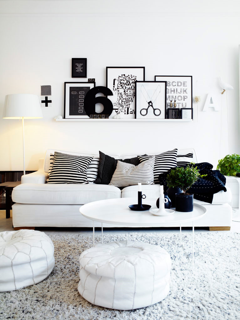17 Inspiring Wonderful Black and White Contemporary Interior Designs Homesthetics 111