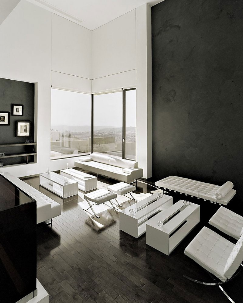 17 Inspiring Wonderful Black and White Contemporary Interior Designs Homesthetics 121