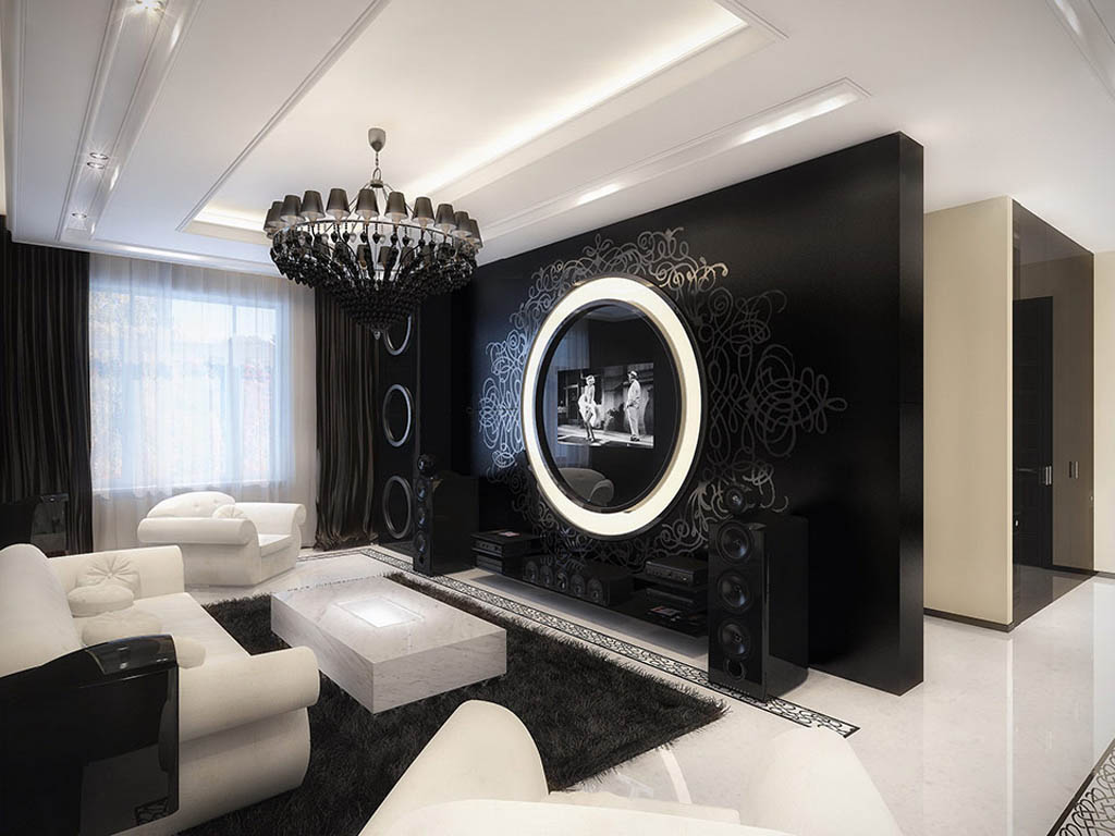 17 Inspiring Wonderful Black and White Contemporary Interior Designs Homesthetics 131
