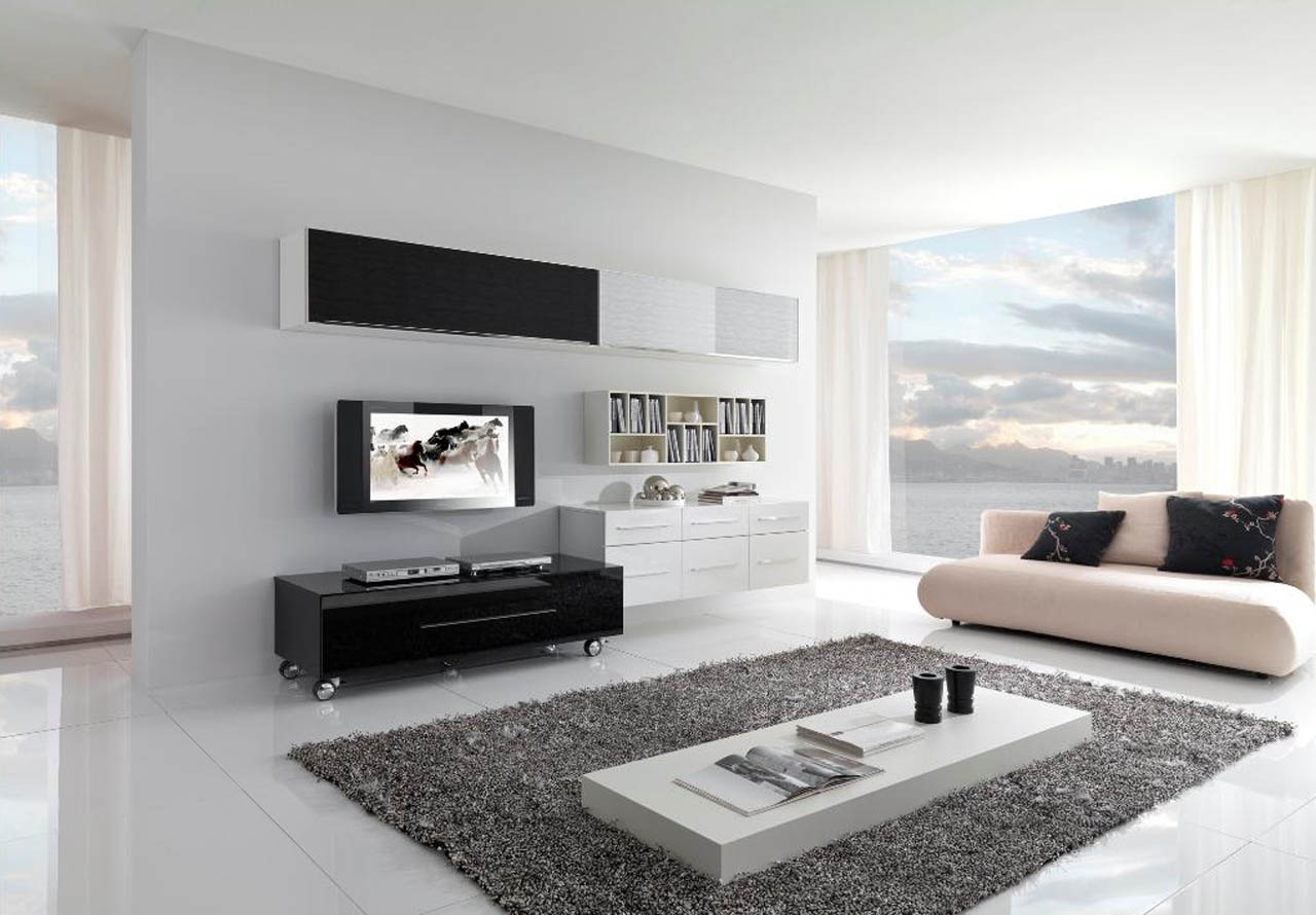 17 Inspiring Wonderful Black and White Contemporary Interior Designs Homesthetics 151
