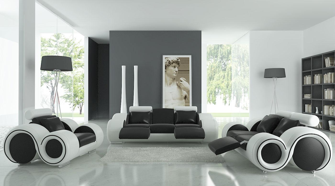 17 Inspiring Wonderful Black and White Contemporary Interior Designs Homesthetics 161