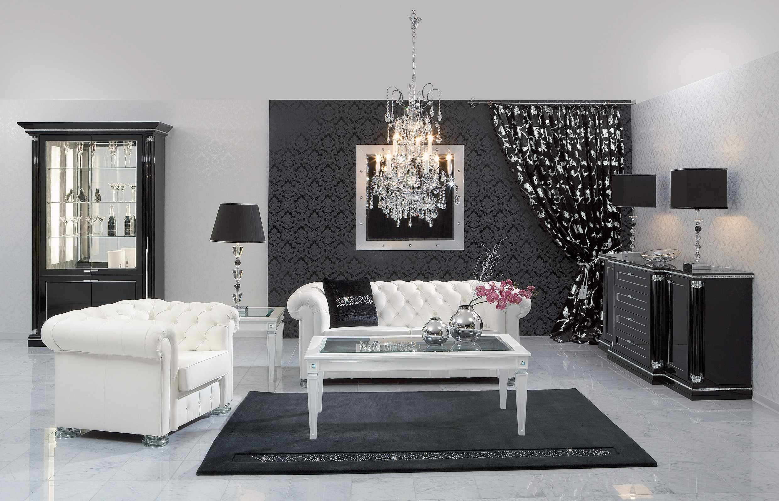 17 Inspiring Wonderful Black and White Contemporary Interior Designs Homesthetics 21