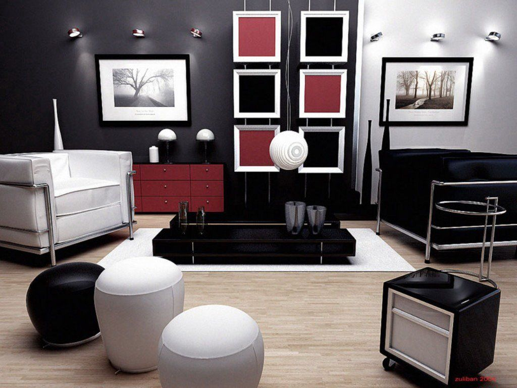 17 Inspiring Wonderful Black and White Contemporary Interior Designs Homesthetics 51