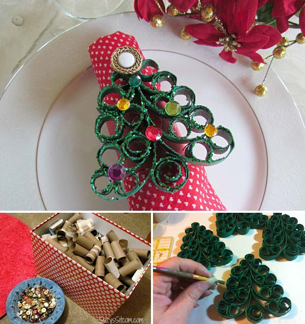 17 Super Delicate Napkin Ideas For Your Christmas Table Setting homesthetics decor 2