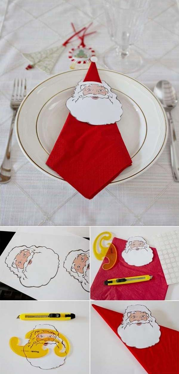 17 Super Delicate Napkin Ideas For Your Christmas Table Setting homesthetics decor 9