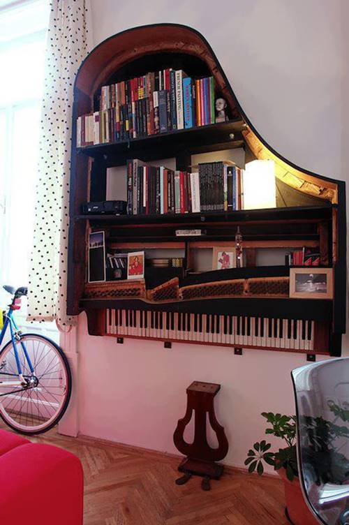 20 Creative Ideas and DIY Projects to Repurpose Old Furniture 2