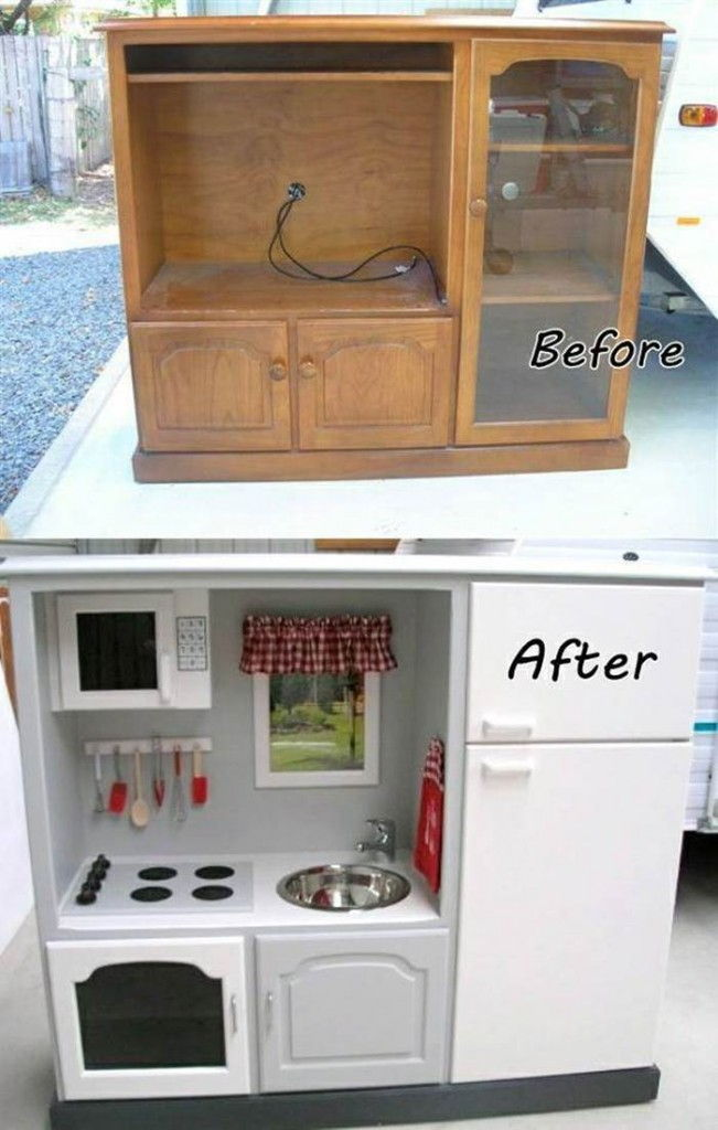 20 Creative Ideas and DIY Projects to Repurpose Old Furniture 4