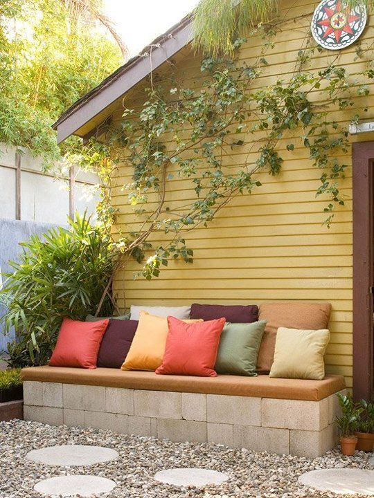 20 Creative Uses of Concrete Blocks in Your Home and Garden 1