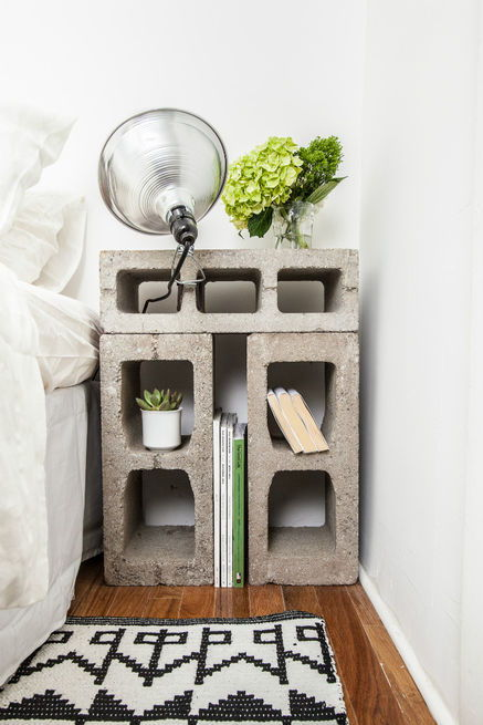 20 Creative Uses of Concrete Blocks in Your Home and Garden 13