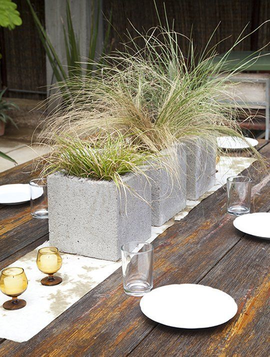 20 Creative Uses of Concrete Blocks in Your Home and Garden 14