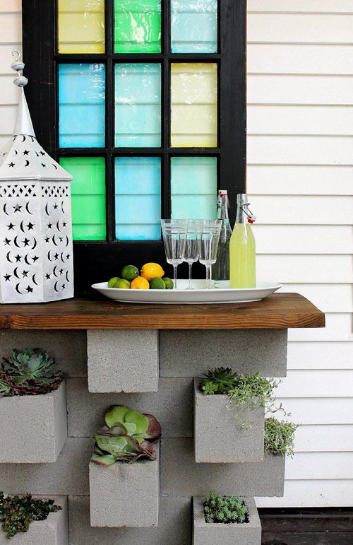 20 Creative Uses of Concrete Blocks in Your Home and Garden 22
