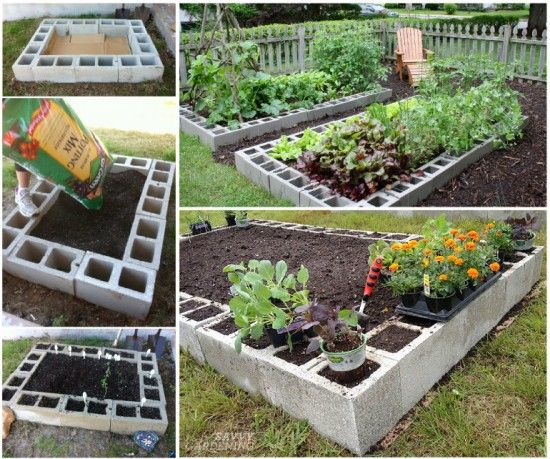 20 Creative Uses of Concrete Blocks in Your Home and Garden 24