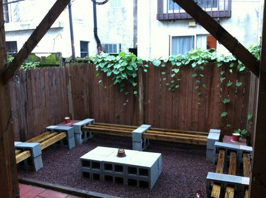 20 Creative Uses of Concrete Blocks in Your Home and Garden 6
