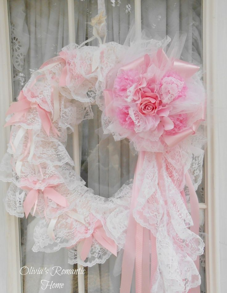 22 Awesomely Shabby Chic Christmas Wreath That Can Be Used All Year Round 2