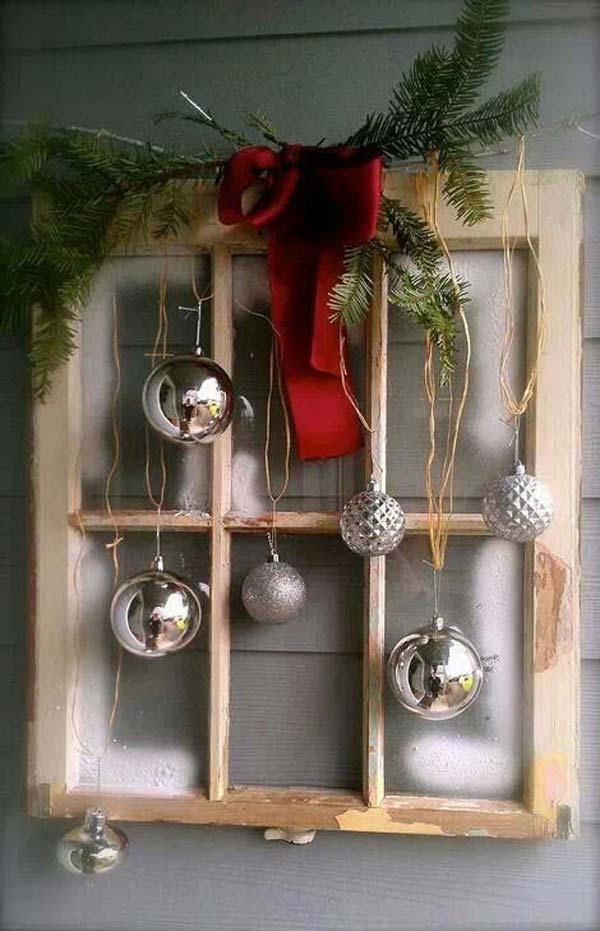 30 Insanely Beautiful Last Minute Christmas Windows Decorating Ideas homesthetics decor 17