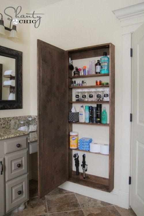 AD Brilliant DIY Storage And Organization Hacks For Small Bathrooms 02