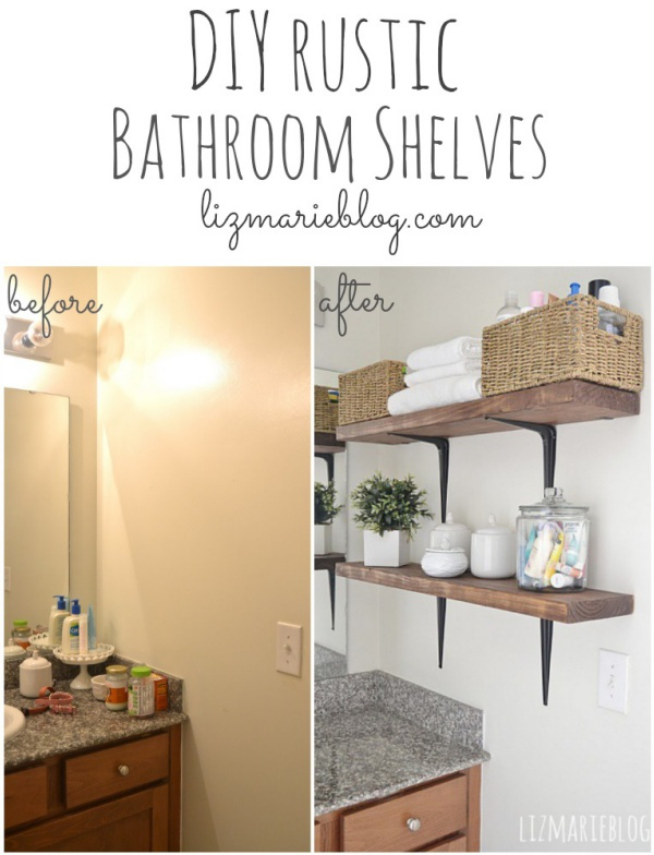 AD Brilliant DIY Storage And Organization Hacks For Small Bathrooms 05