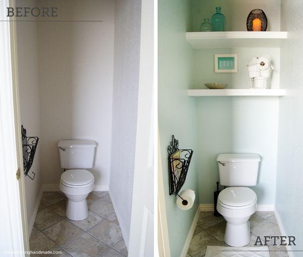AD Brilliant DIY Storage And Organization Hacks For Small Bathrooms 07