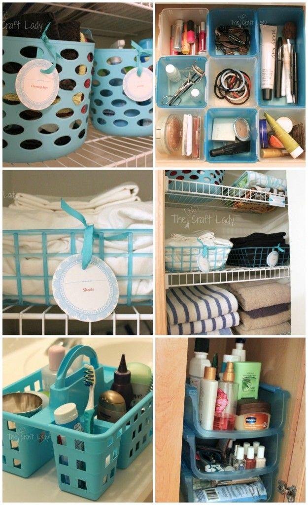 AD Brilliant DIY Storage And Organization Hacks For Small Bathrooms 08
