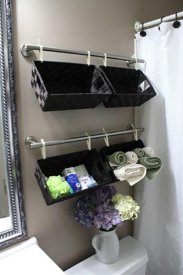 AD Brilliant DIY Storage And Organization Hacks For Small Bathrooms 13