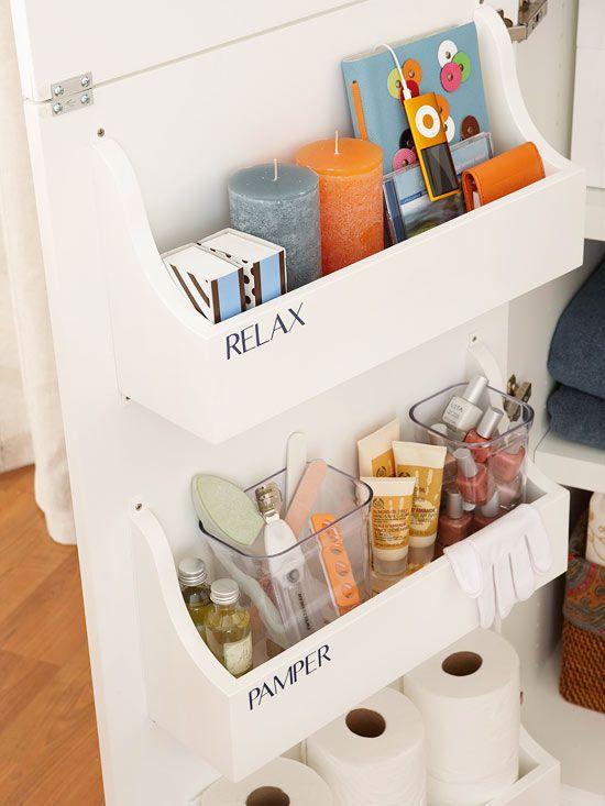 AD Brilliant DIY Storage And Organization Hacks For Small Bathrooms 32
