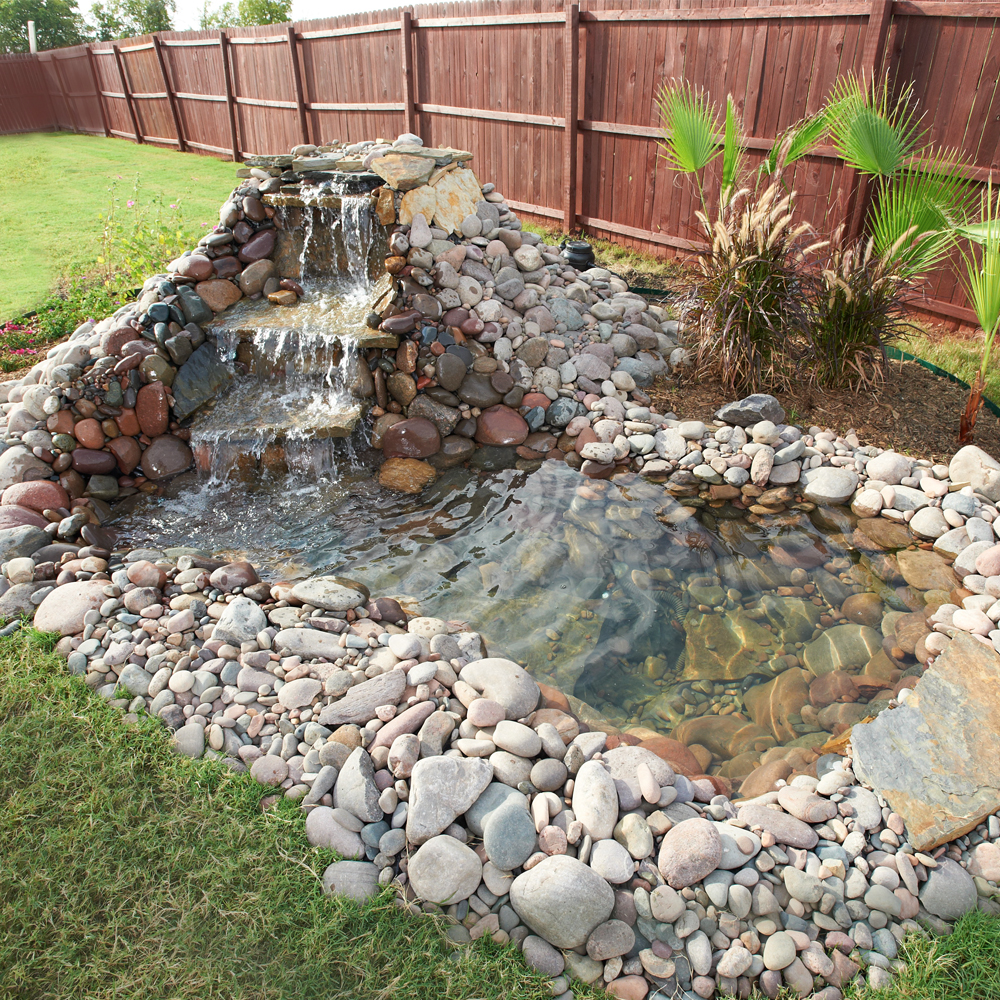 15+ DIY Backyard Pond Ideas