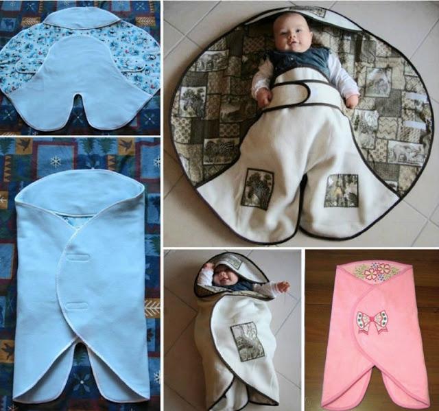 Grab The Pattern For This Newborn Envelope Blanket