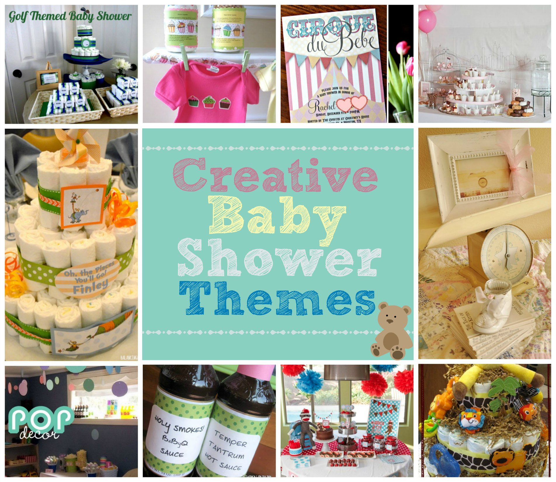 Creative Baby Shoer Themes