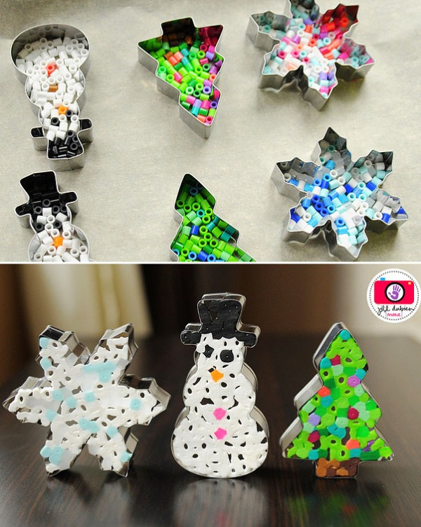 Creative Christmas Ornaments DIY from Cookie Cutters0 e1448994154607