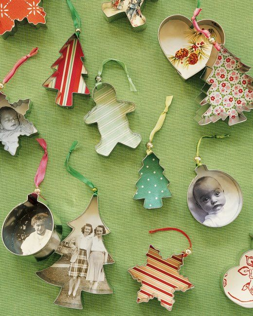 Creative Christmas Ornaments DIY from Cookie Cutters1