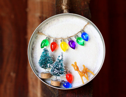 Creative Christmas Ornaments DIY from Cookie Cutters10