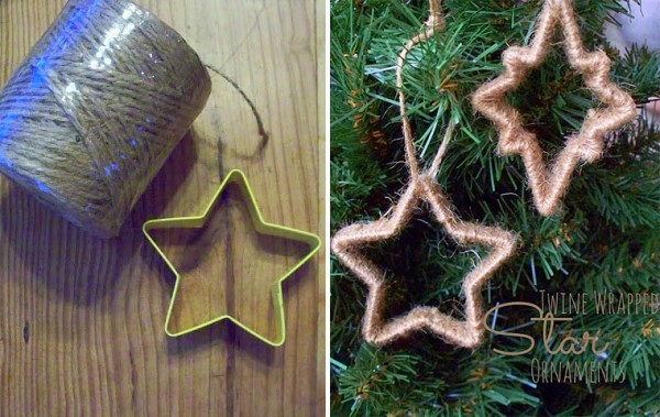 Creative Christmas Ornaments DIY from Cookie Cutters8 e1448994111681