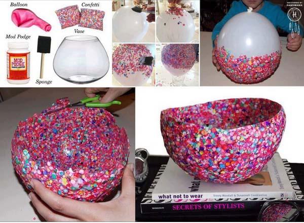 Creative Easy DIY Crafts Using Balloons 2