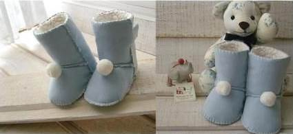 Creative Ideas DIY Baby Ugg Boots 14