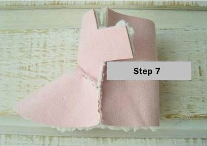 Creative Ideas DIY Baby Ugg Boots 7