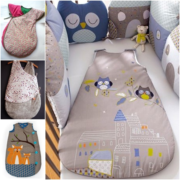 Baby Sleeping Bag Diy From Free Template
