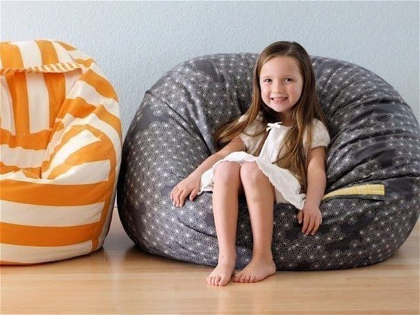 DIY Beanbag for home decor01