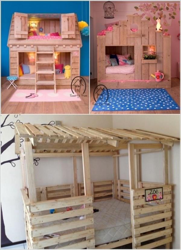 DIY Kids Pallet Furniture 1