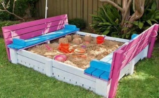 DIY Kids Pallet Furniture 12