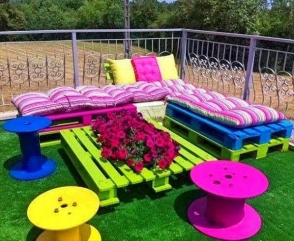 DIY Kids Pallet Furniture 15