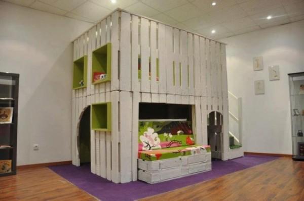 DIY Kids Pallet Furniture 16
