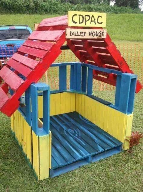 DIY Kids Pallet Furniture 4