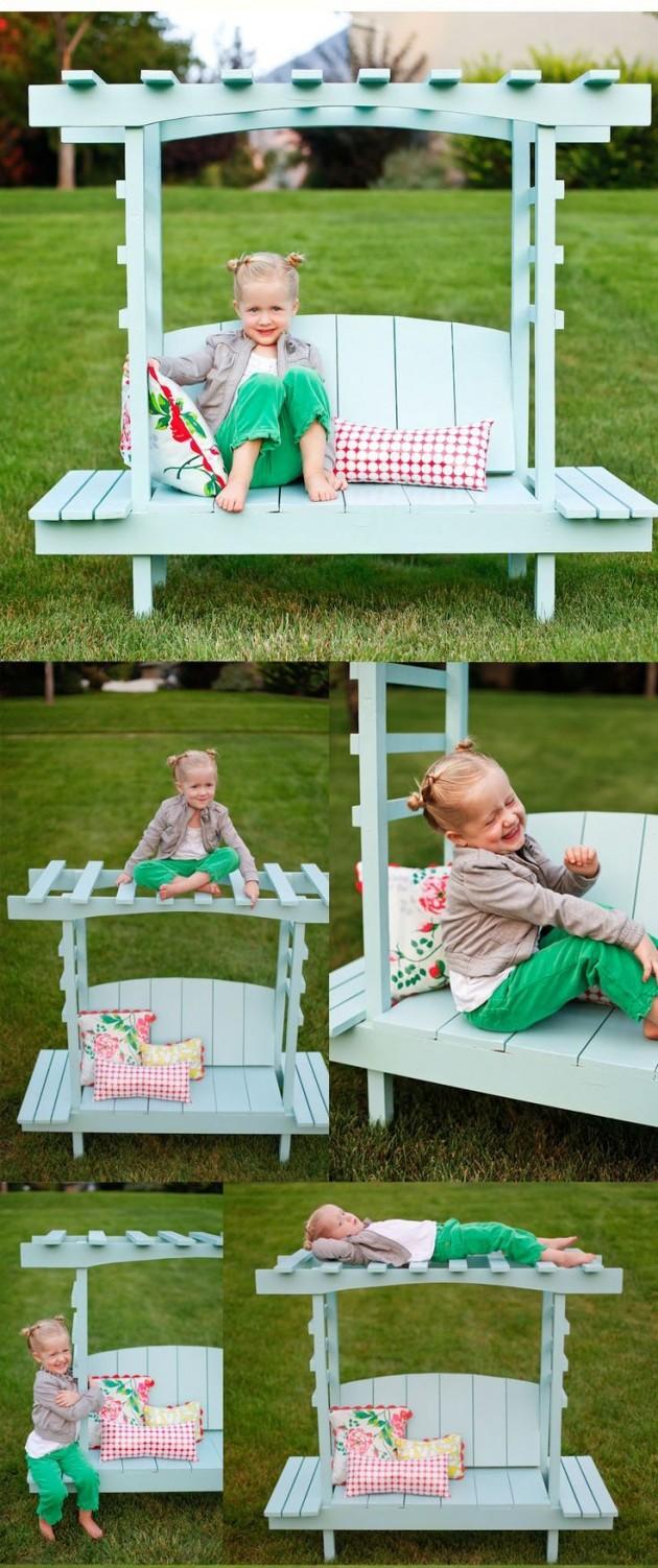 DIY Kids Pallet Furniture 5