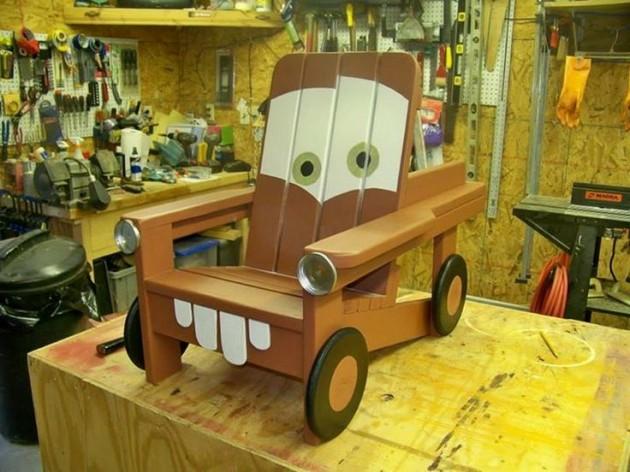 DIY Kids Pallet Furniture 7