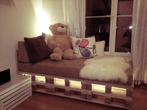 DIY Kids Pallet Furniture 9
