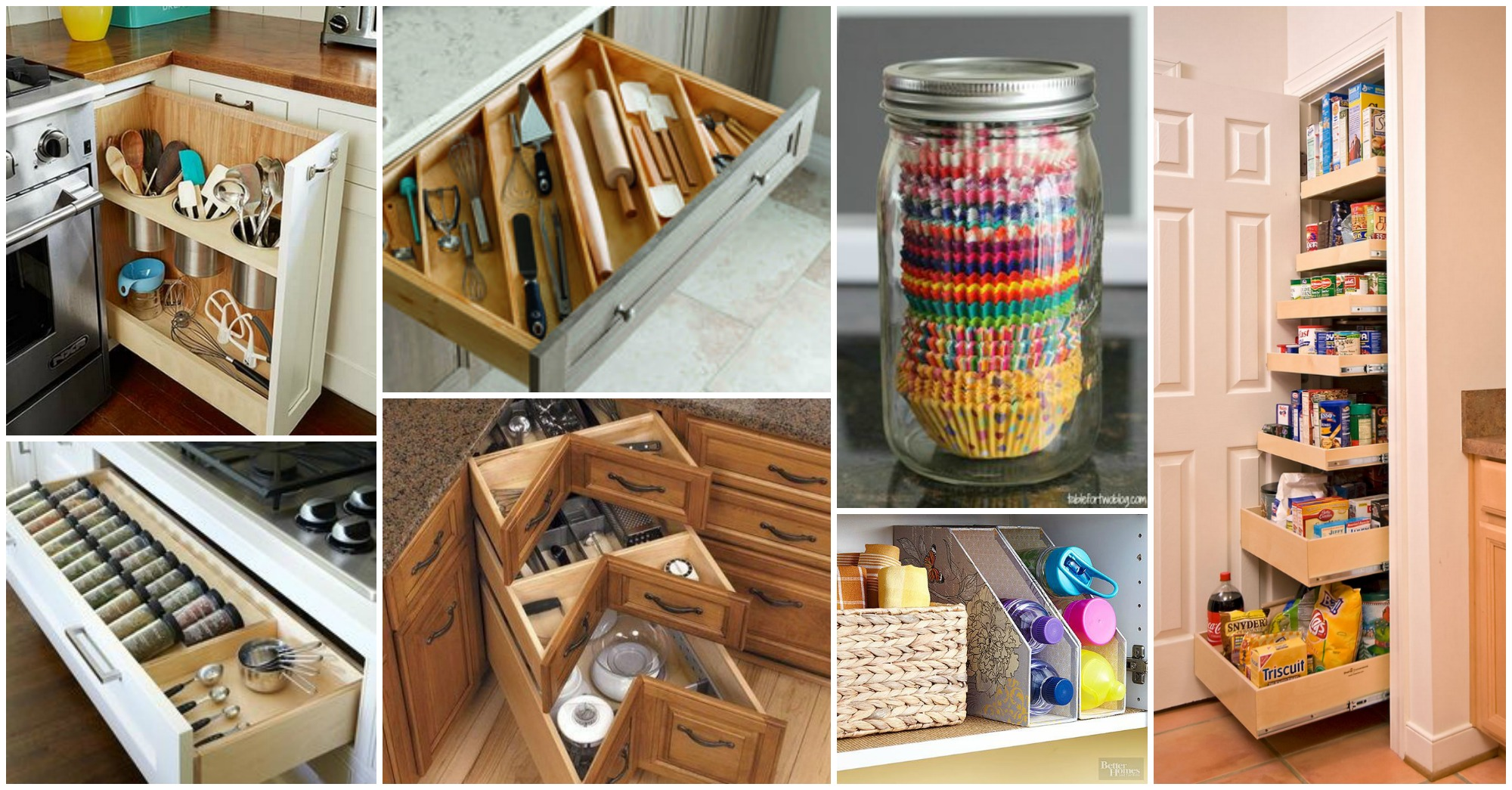 Kitchen Storage Diy Diy Kitchen Storage Ideas