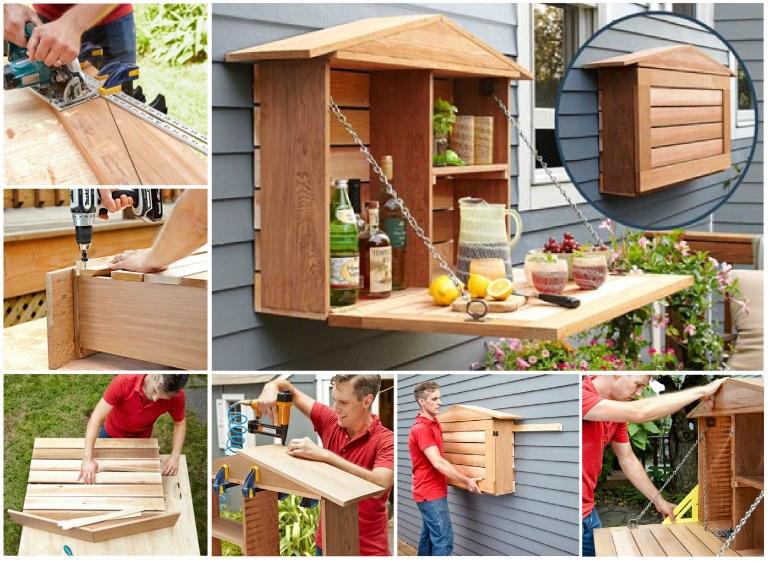 20+ Fabulous DIY Outdoor Pallet Furniture Ideas and Tutorials - photo#19