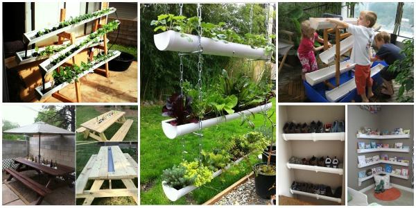 10 Fabulous Diy Rain Gutter Projects